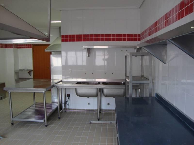 Bancadas de Inox para Cozinha  Eginox # Bancada Cozinha Inox Sob Medida