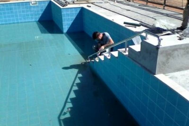 Barra pne em inox eginox - Fabricante de piscinas ...